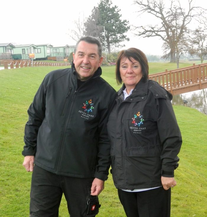 Tony and Karen appointed new managers at five star holiday park on the Shropshire/Powys border