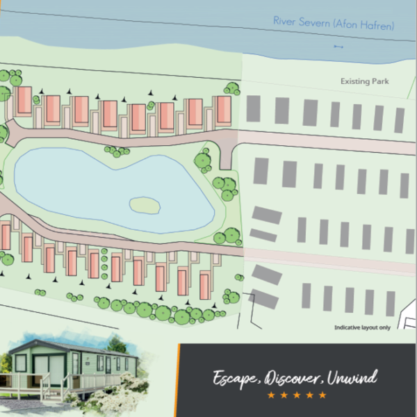 Brand New Development for Caravans and Lodges